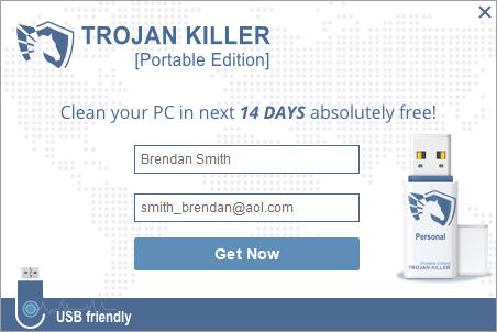Kích hoạt bản dùng thử miễn phí trong Trojan Killer
